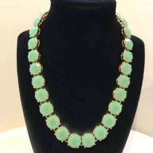 JCrew green adjustable necklace